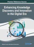 Enhancing knowledge discovery and innovation in the digital era için kapak resmi