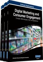 Digital marketing and consumer engagement : concepts, methodologies, tools, and applications için kapak resmi