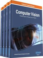 Computer vision : concepts, methodologies, tools, and applications için kapak resmi