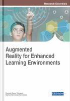 Augmented reality for enhanced learning environments için kapak resmi