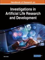 Handbook of research on investigations in artificial life research and development için kapak resmi