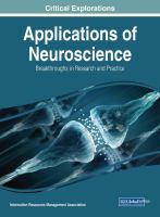 Applications of neuroscience : breakthroughs in research and practice için kapak resmi