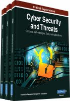 Cyber security and threats : concepts, methodologies, tools, and applications için kapak resmi