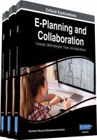 E-planning and collaboration : concepts, methodologies, tools, and applications için kapak resmi