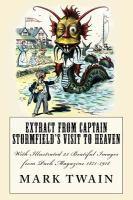 Extract from Captain Stormfield's visit to heaven için kapak resmi