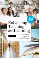Enhancing teaching and learning:  a leadership guide for school librarians, Third edition için kapak resmi