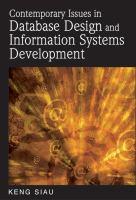 Contemporary issues in database design and information systems development için kapak resmi