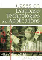 Cases on database technologies and applications için kapak resmi