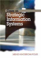 Cases on strategic information systems için kapak resmi