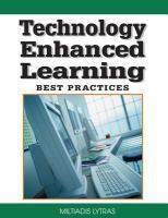 Technology enhanced learning best practices için kapak resmi
