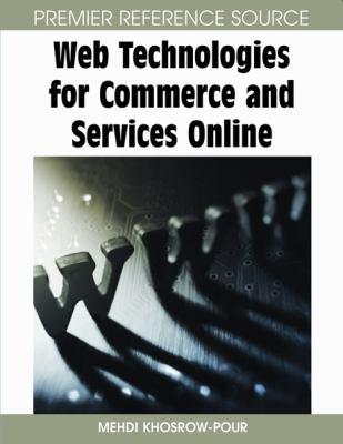 Web technologies for commerce and services online için kapak resmi