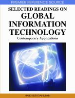 Selected readings on global information technology contemporary applications için kapak resmi