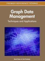 Graph data management techniques and applications için kapak resmi