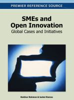 SMEs and open innovation global cases and initiatives için kapak resmi