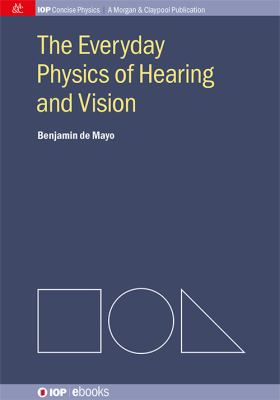 The everyday physics of hearing and vision için kapak resmi