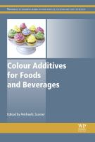 Colour additives for foods and beverages için kapak resmi