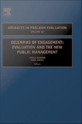 Dilemmas of engagement evaluation and the new public management için kapak resmi