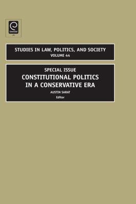 Constitutional politics in a conservative era için kapak resmi
