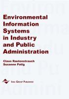 Environmental information systems in industry and public administration için kapak resmi