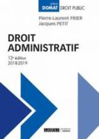 Droit administratif için kapak resmi