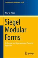 Siegel Modular Forms için kapak resmi