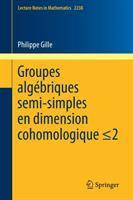 Groupes algebriques semi-simples en dimension cohomologique için kapak resmi