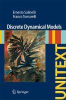 Discrete Dynamical Models için kapak resmi