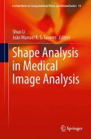Shape Analysis in Medical Image Analysis için kapak resmi