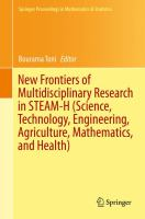 New Frontiers of Multidisciplinary Research in STEAM-H (Science, Technology, Engineering, Agriculture, Mathematics, and Health) için kapak resmi