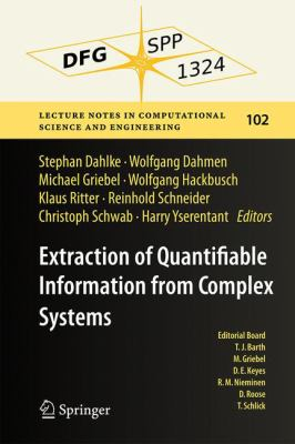 Extraction of Quantifiable Information from Complex Systems için kapak resmi