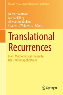 Translational Recurrences From Mathematical Theory to Real-World Applications için kapak resmi
