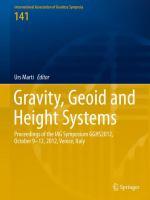 Gravity, Geoid and Height Systems Proceedings of the IAG Symposium GGHS2012, October 9-12, 2012, Venice, Italy için kapak resmi