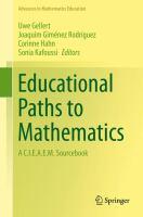 Educational Paths to Mathematics A C.I.E.A.E.M. Sourcebook için kapak resmi