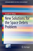 New Solutions for the Space Debris Problem için kapak resmi