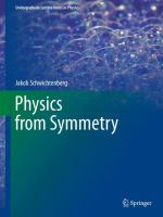 Physics from Symmetry için kapak resmi