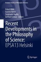 Recent Developments in the Philosophy of Science: EPSA13 Helsinki için kapak resmi