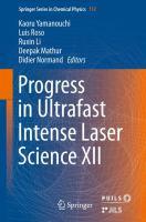 Progress in Ultrafast Intense Laser Science XII için kapak resmi
