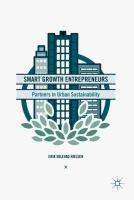 Smart Growth Entrepreneurs Partners in Urban Sustainability için kapak resmi