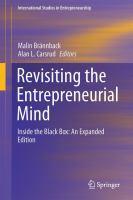 Revisiting the Entrepreneurial Mind Inside the Black Box: An Expanded Edition için kapak resmi