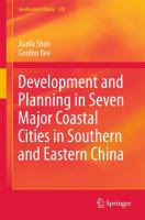 Development and Planning in Seven Major Coastal Cities in Southern and Eastern China için kapak resmi