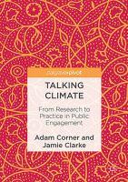 Talking Climate From Research to Practice in Public Engagement için kapak resmi