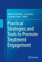 Practical Strategies and Tools to Promote Treatment Engagement için kapak resmi