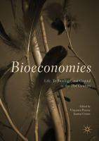 Bioeconomies Life, Technology, and Capital in the 21st Century için kapak resmi