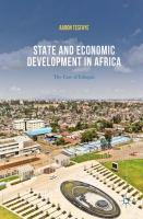 State and Economic Development in Africa The Case of Ethiopia için kapak resmi