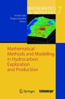 Mathematical Methods and Modelling in Hydrocarbon Exploration and Production için kapak resmi