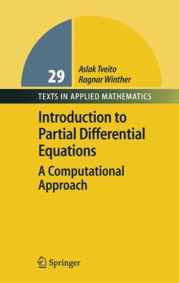 Introduction to Partial Differential Equations A Computational Approach için kapak resmi