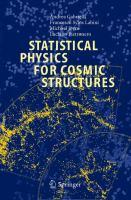 Statistical Physics for Cosmic Structures için kapak resmi