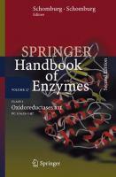 Springer Handbook of Enzymes Class 1 · Oxidoreductases XII EC 1.14.15-1.97 için kapak resmi