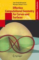 Effective Computational Geometry for Curves and Surfaces için kapak resmi