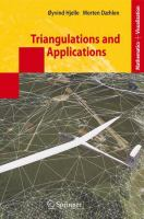 Triangulations and Applications için kapak resmi